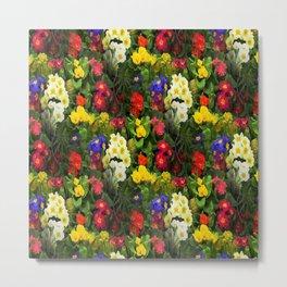 Flowers Galore Metal Print
