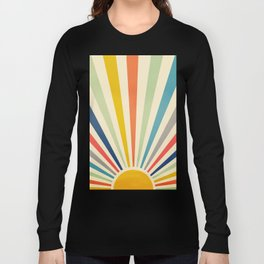 Sun Retro Art III Long Sleeve T-shirt