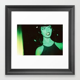 Betty Page Mannequin Framed Art Print
