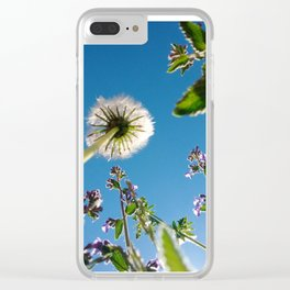 An insects veiw up Clear iPhone Case
