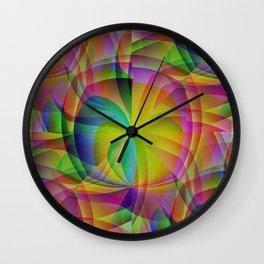 Colors Of The Tropics Wall Clock