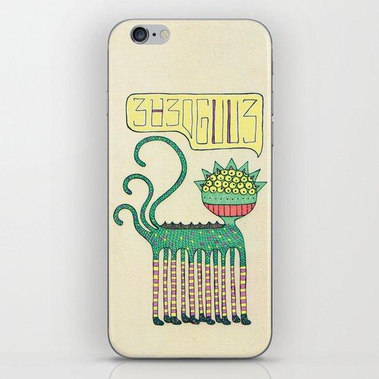 galáctico iPhone & iPod Skin