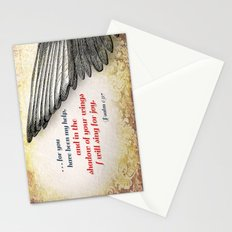 The Shadow of Your Wings Stationery Cards