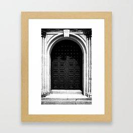 Grand Entrance Framed Art Print