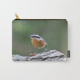 Red Breasted Nuthatch Carry-All Pouch