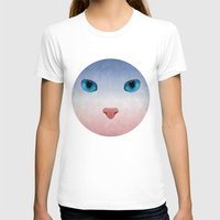 meow T-shirts featuring MEOW by Rosa Picnic