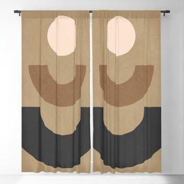 Minimal Geometric 38 Blackout Curtain
