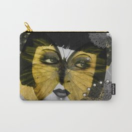 Butterfly Woman Carry-All Pouch