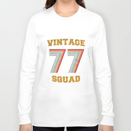 VINTAGE SQUAD 77 Long Sleeve T-shirt