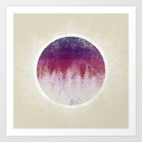 stripe Art Prints featuring STRIPE by Charlotte Dandy