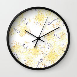Botanical Impressions: RAGWORT Wall Clock