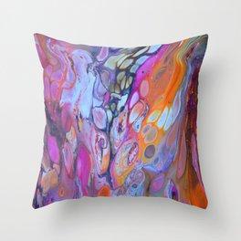 Colour Bubble Throw Pillow