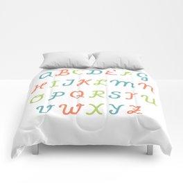 ABC...RGB... Comforters