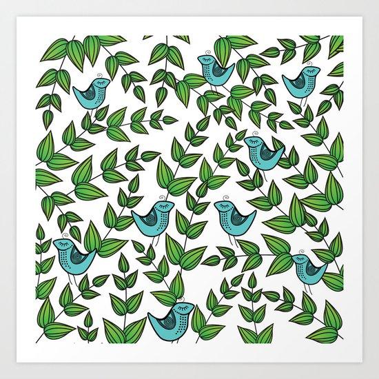 Pattern P Art Print