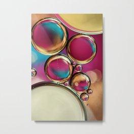 Bubble Fun Metal Print