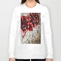 pomegranate Long Sleeve T-shirts featuring Pomegranate  by Carey Lee Designs