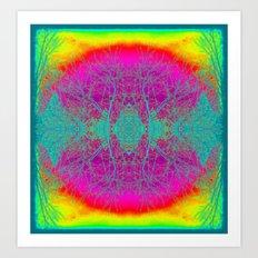 Bohemian Inspired Nature Symbol | Gypsy | Hippie | Nadia Bonello Art Print