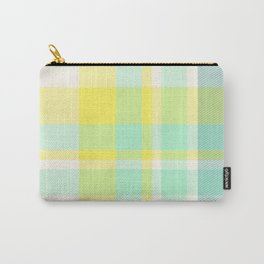 Summer Plaid 11 Carry-All Pouch