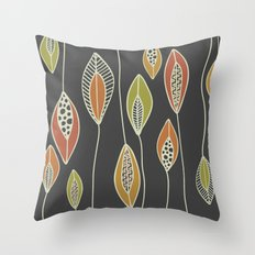 Falling Feathers Throw Pillow