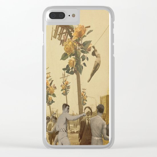 I'M CONFUSED Clear iPhone Case