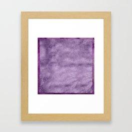 Violet wall Framed Art Print