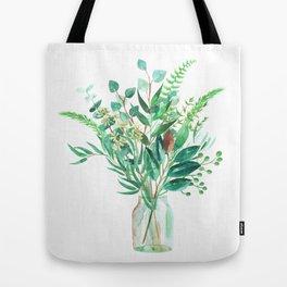 greenery in the jar Tote Bag