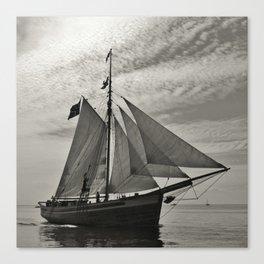 Old Sailboat Canvas Print