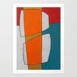 The Daily Abstract Art Print Art Print