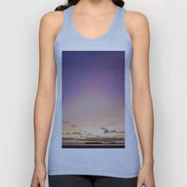Colorful Sky at Sunset Unisex Tank Top