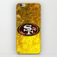 San Francisco 49'ers Logo iPhone & iPod Skin