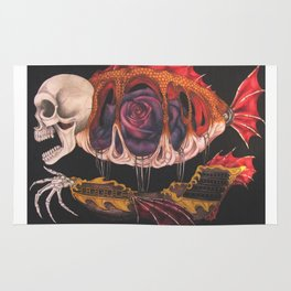 The Airship of a Madman Rug