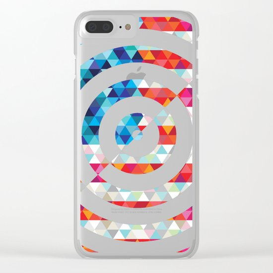Abstract America Clear iPhone Case