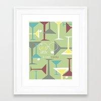 gatsby Framed Art Prints featuring Gatsby by Jennifer Epstein