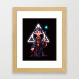 -Lumos- Framed Art Print
