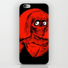 Longing for Brains iPhone & iPod Skin
