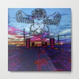 Garuda Rising Metal Print