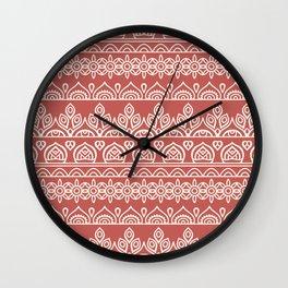 Stripes Mandala 3 Wall Clock