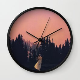 Call of the Forest Wall Clock