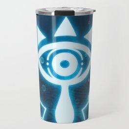 The blue eye Travel Mug