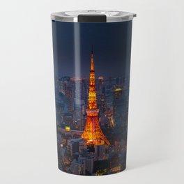 Japan - 'Tokyo Tower Night' Travel Mug