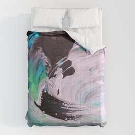 John the Baptist Beheaded (by Michael Cina) Comforters