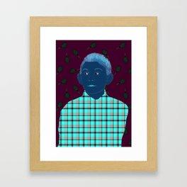 Dewey candyfloss Framed Art Print