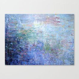 Blue Noise Canvas Print