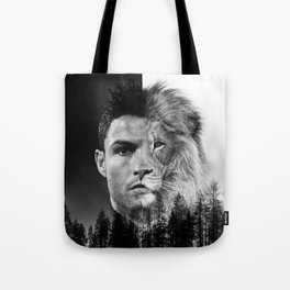 Cristiano Ronaldo Beast Mode Tote Bag
