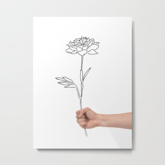 For her Metal Print