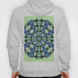 314 - Abstract Orb design Hoody