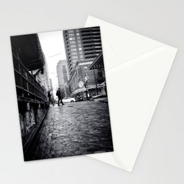 Find Love in the Rain Stationery Cards
