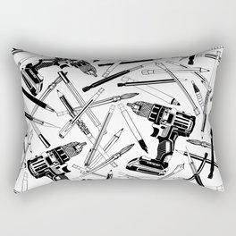 Art Bits Drill Set Rectangular Pillow
