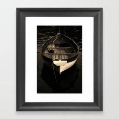 Boat of a Fisherman Framed Art Print