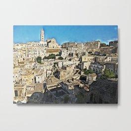 Sassi di Matera - Italy Metal Print